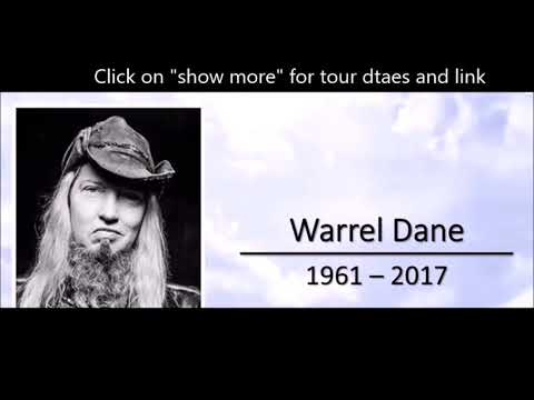Nevermore and Sanctuary vocalist Warrel Dane memorial service to be live streamed