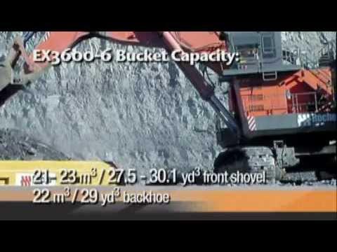 Hitachi Face Shovels promotional Film