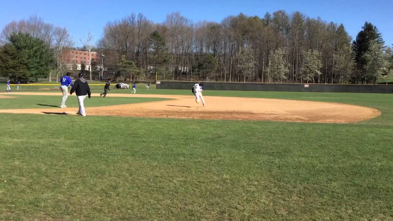 Baseball Vs Lehman College Youtube