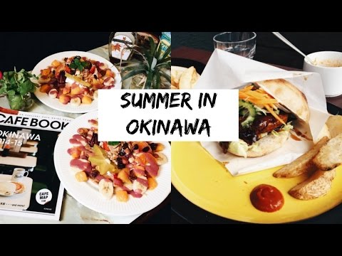 2 | SUMMER IN OKINAWA | VEGAN BURGERS & CHOCOLATE PANCAKES
