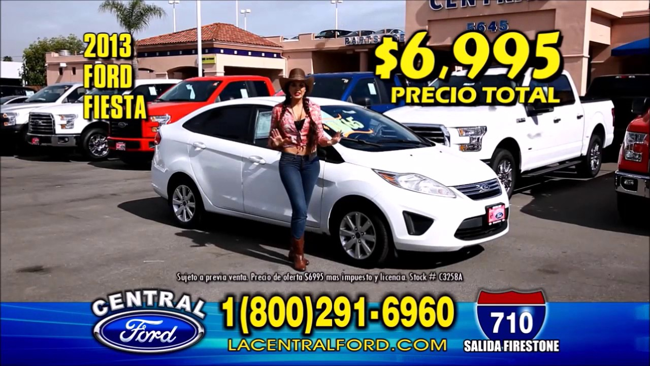 2017 Ford Fiesta Los Angeles Ca Dealer
