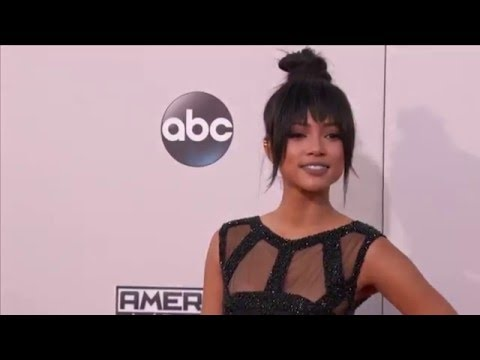 Karreuche Tran Red Carpet Fashion AMAs 2015 thumbnail