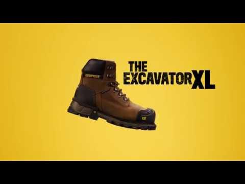 Cat Footwear- Introducing: The ExcavatorXL