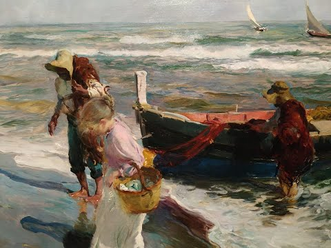 Joaquin Sorolla (Soroya) Spain 1863−1923 ✽ La Petite Fille De La Mer - Vangelis