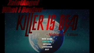 What I Review - Killer Is Dead Nightmare Edition (PC)