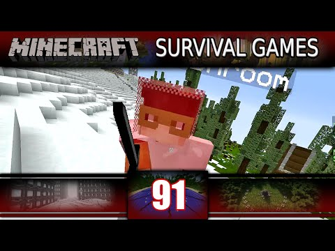 Minecraft - Survival Games - BRAIN POWAAAAAA! (Minecraft PVP)