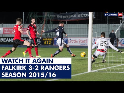 Watch It Again: Falkirk 3-2 Rangers | 2015/16
