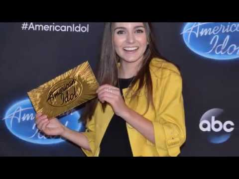 Franki Moscato Wins The Golden Ticket On American Idol
