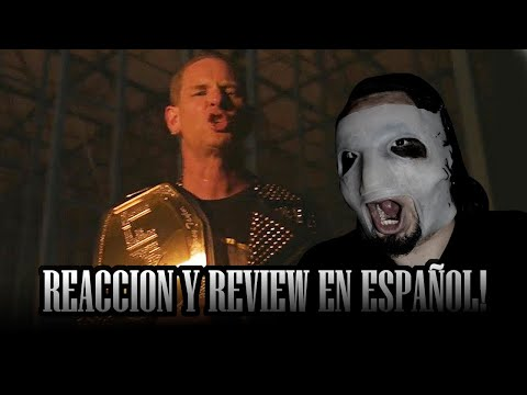 REACCION - Corey Taylor - CMFT Must Be Stopped (feat. Tech N9ne \u0026 Kid Bookie) [OFFICIAL VIDEO]
