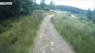 Nevis Range World Cup downhill wedding run - Adam