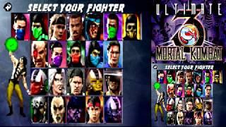 Ultimate Mortal Kombat 3 NDS - Shang Tsung【TAS】