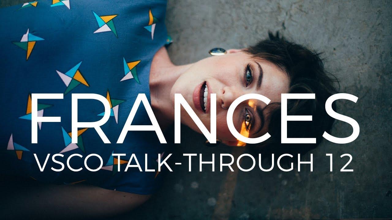 VSCO Pack 5 (Kodak Ektar 100) Tutorial • Editing A Colourful Fashion Shoot  feat  Frances McNair