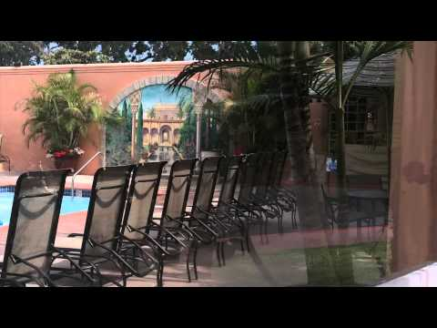 Short tour of the Bahia Resort Hotel in San Diego