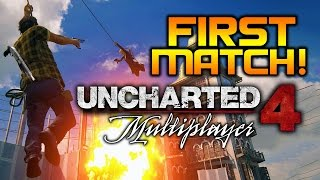 Uncharted 4 Multiplayer Beta - First Ever Match!   PS4 Gameplay