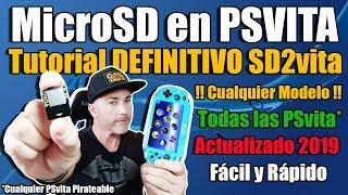 Instalar MicroSD en PSvita SD2vita - TUTORIAL DEFINITIVO ACTUALIZADO