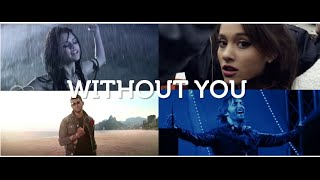 Ariana Grande Vs Usher Vs Selena Gomez - Without You (Josh R Mashup Remix)