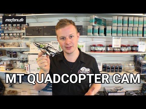 Fjernstyret Drone med kamera MT Quadcopter CAM