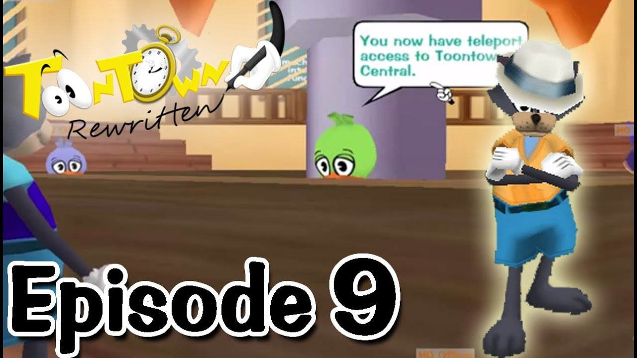 Toontown Rewritten - Teleport Access to Toontown Central! - YouTube