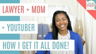 Time Management Tips - Working Mom Life Hacks -  How to Make Time for Everything And Get Stuff Done