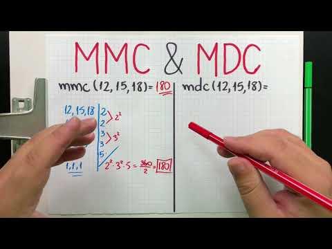 DICA 27 - MMC e MDC Simples e Fácil (mínimo múltiplo comum e máximo divisor comum)