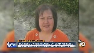 Business owner accused of scamming dozens arrested