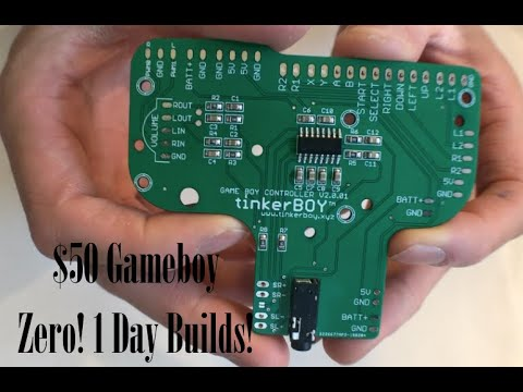 how to build a gameboy