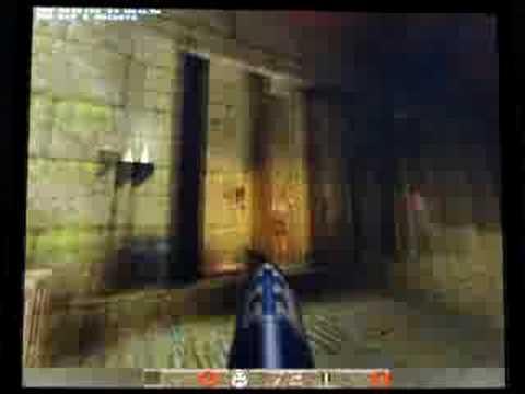 Quake on Amiga 1200 BPPC