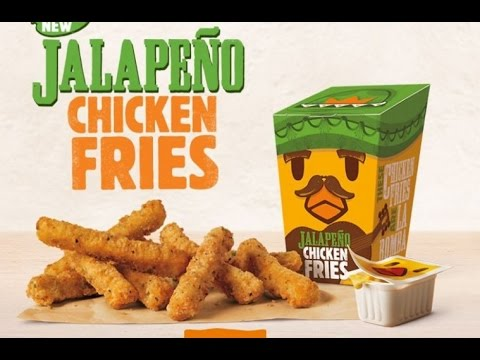 Burger King Jalapeno Chicken Fries Review