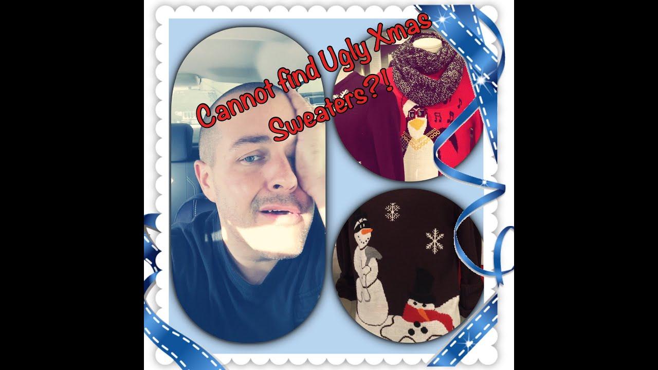 CANNOT FIND UGLY CHRISTMAS SWEATERS?!Sephora, Macy\'s, Shirokiya ...