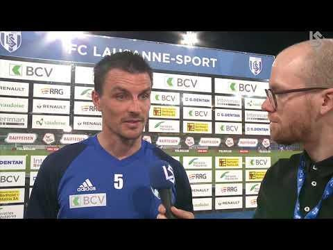 LSTV: Lausanne-Sport - FC Lucerne, interview d'après-match d'Alain Rochat
