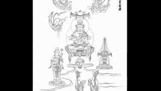 【仏画】2015-39-持世菩薩曼荼羅
