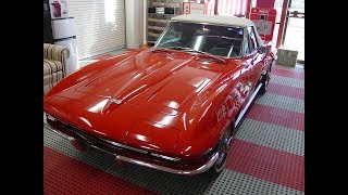 SOLD 1964 Corvette Convertible For Sale Tulsa ..