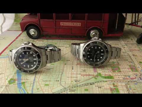 ROLEX DEEP-SEA - Standard VS James Cameron Limited Edition