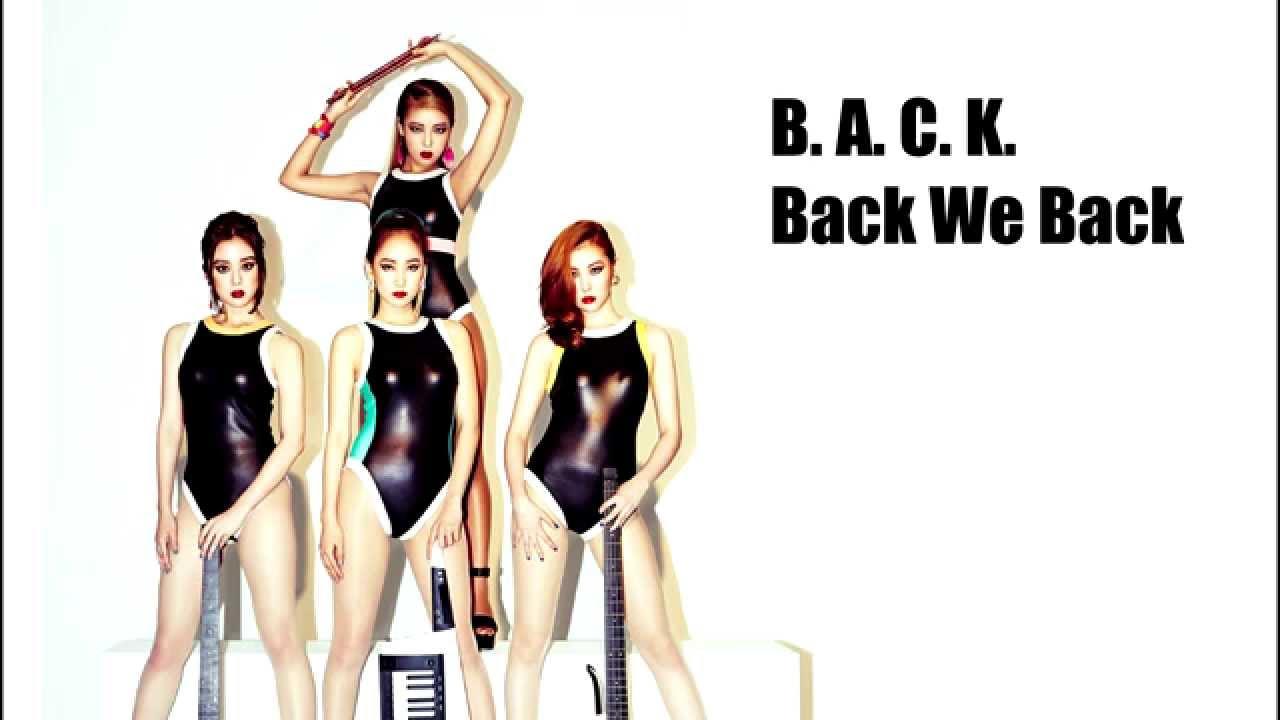 Wonder Girls Back Lyrics Thaisub Youtube