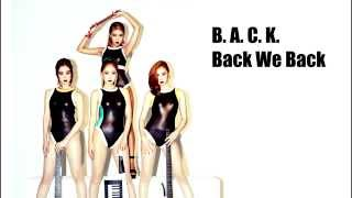 Wonder Girls - Back (Lyrics Thaisub) MP3
