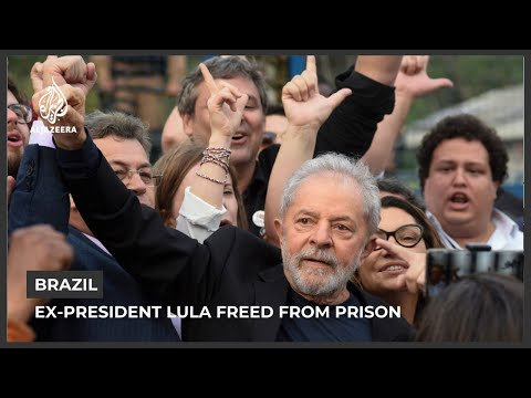 Brazil's ex-President Lula freed from prison