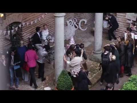 Batres in Madrid, Spain.  Exquisite wedding Álvaro & Arina.