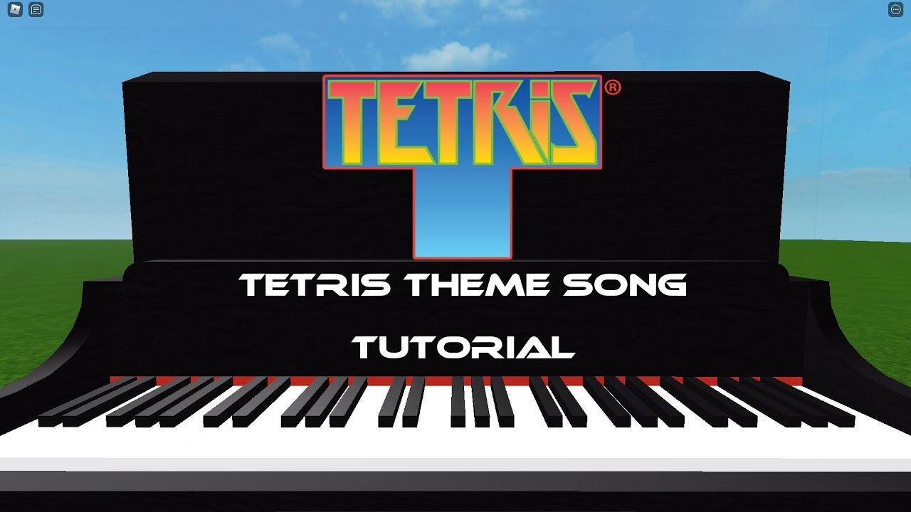 Roblox Tetris Special 200 Subs How To Play Tetris Theme Song On Piano Roblox 2020 Youtube