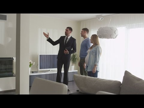 Handshake between Real-estate Agent and Man with Pregnant Woman | Stock Footage - Videohive