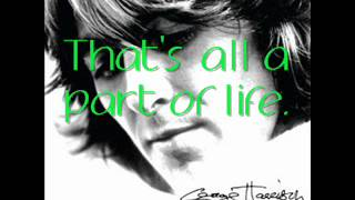 George Harrison - Crackerbox Palace (LYRICS)