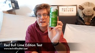 Red Bull Lime Edition Test