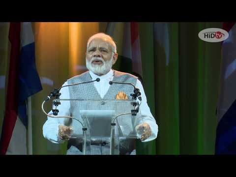 Complete speech Prime Minister Narendra Modi - 27 June 2017 - The Hague - The Netherlands