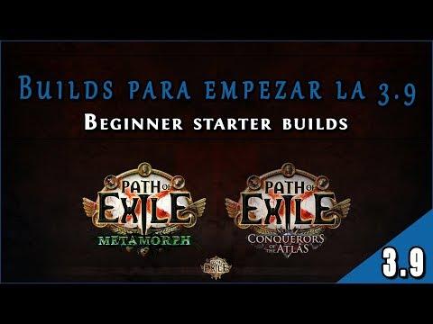 Guía Builds 3.9 - Liga Metamorph || Lista Builds Starter En Path Of Exile