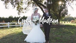 Corey + Madison   White Crest Farm Wedding