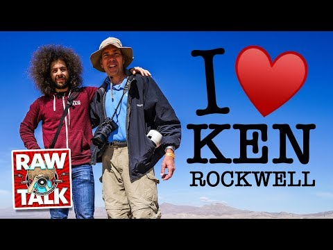 KEN ROCKWELL My NEW Best Friend: RAWtalk 241 LIVE 3pm EST March 2nd