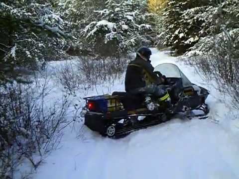 Ski Doo Skandic >> ride after fixen the skandic 2 502cc.avi - YouTube