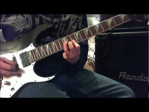 Atreyu - When Two Are One - With solo's - (Guitar cover)