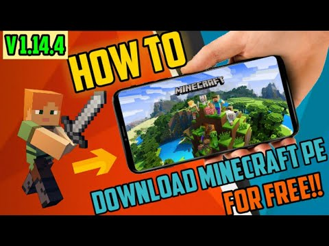 How To Download Minecraft PE V1.14.4 Latest Version For Free In Your Android Device In 2019!!