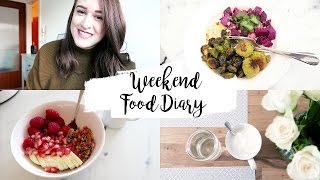 WEEKEND FOOD DIARY I What I Ate This Weekend