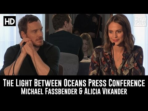The Light Between Oceans Press Conference in Full (Michael Fassbender & Alicia Vikander)
